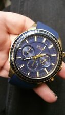 GUESS W0802G2 Blue/Gold Chronograph Spring Collection Men's Watch