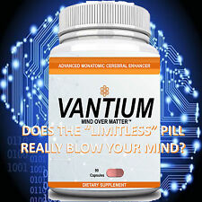 VANTIUM BRAIN ENHANCEMENT NOOTROPIC LIMITLESS PILL FOCUS ENERGY MEMORY 45 day