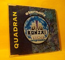 MAXI Single CD QUADRAN Eternally 3TR 1995 BONZAI TRANCE PROGRESSIVE