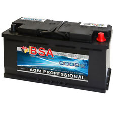 Solarbatterie 120AH 12V AGM GEL USV Batterie Wohnmobil Boot Schiff Akku 100Ah