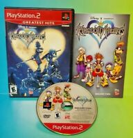 Kingdom Hearts - PS2 Playstation 2 Rare Game Complete Tested Disney Square Rare