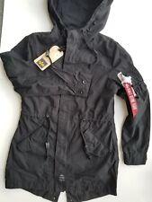 Alpha Industries Diplomat Fishtail Parka  Jacket Coat Women's Sz XS WJD47010C1