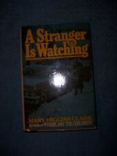 A STRANGER IS WATCHING by Mary Higgins Clark/1st ed/HCDJ/Literature/Mystery