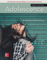 NEW 3 Days to US / CA Adolescence 12E Laurence Steinberg 12th Paperback Edition
