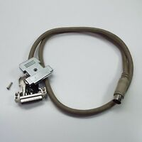 9-pin male to female RGB video monitor cable FOR Commodore 128 (80 column mode)
