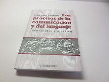 Los Procesos de la Comunicacion y Del Lenguaje Fundamentos y paperback