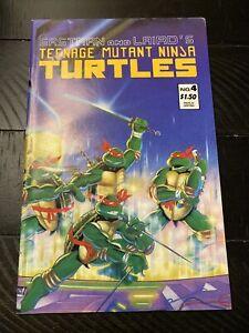 Eastman and Laird's Teenage Mutant Ninja Turtles #4 May 1987
