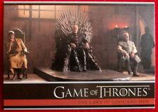 GAME OF THRONES - Season 4 - Card #17 - THE LAW OF GODS & MEN - Rittenhouse 2015