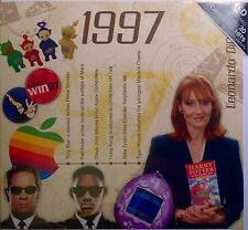 20th Birthday Gifts - 1997 Classic Years Pop CD Greetings Card - CD Card Company