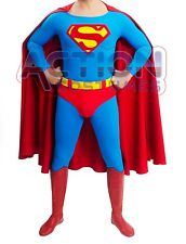 Superman Adult Costume 80´s Style READY TO SHIP
