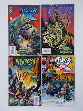 Weapon X # 1 - 4. 1995 (X-Men Deluxe) us Marvel Comic/p. 1