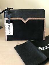 Kurt Geiger Carvela Miss KG Black Clutch Pouch Bag