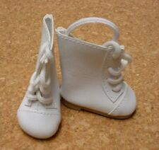 Mt Toddler DOLL Shoes Chatty Cathy 85mm WHITE w NAVY Sporty Shoes