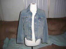 Vintage Levi Strauss Denim Jacket Wpl 423 Size Medium Inside Pockets