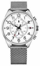 Relojes de pulsera Day-Date plata resistente al agua