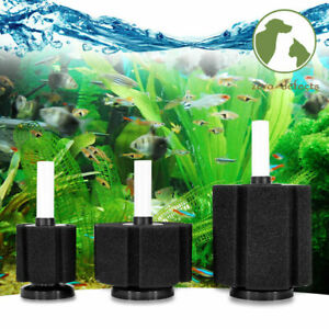 Air Driven Sponge Filter For Aquarium Fish Tank Breeding Fry Clean Water Home