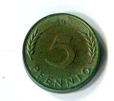 5 Pfennig PP Deutschland 1967 G Polierte Platte Patina selten M_435