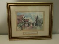Original Watercolour Artwork Painting by Gladys Crook Picture in Beaconsfield.