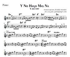 Partituras (Sheet Music) El Gran Combo de Puerto Rico