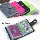 Women Felted Wool Pouch ID Credit Card Wallet Holder Organizer Case Box Pocket