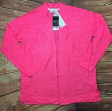 BNWT Women'S NEXT Pink Long Sleeve Thin Knitted Cardigan UK 12 EUR 40 RPP £24
