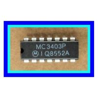 MC3403P / MC3403 / 3403P Quad Low-Power Op Amp 14 Pin DIP IC, Same as NTE987 NEW