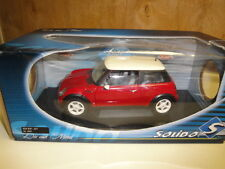 Solido 1/18 - Mini Cooper 2001 red  NEW WITH BOX