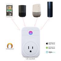 Smart Wi-Fi Socket Switch US Plug Outlet Energy Saving Work with Amazon Alexa