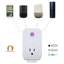 Smart Wi-Fi Socket Switch US Plug Outlet Energy Saving Work with Amazon Alexa