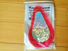 "Kone Zone Brand New 7-1/2"" Trolling Flasher~High Visibility~Made in Usa~KoneZone"