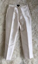 NWT JCrew Collection Petite Cigarette Pant Heavy Shantung Ivory 00P F3827