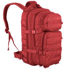Mil-tec mochila Táctica 20l Small US Assault molle bolsa senderismo rojo
