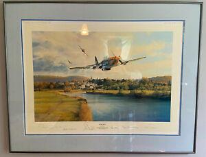 "1990 Aviation Art RARE - Robert Taylor - ""Home Run"" - S/N  456/1250"