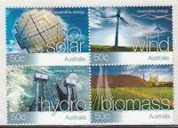 2004 Australian Decimal Stamps -Renewable Energy - MNH block of 4