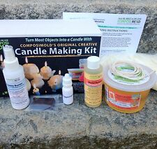 Creative Candle Making Kit. Make a Candle from Almost Any Object