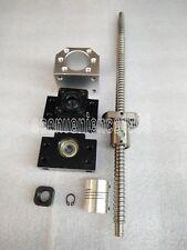 4 Sets RM1605--300mm Anti-backlashed Ballscrew & 4 BK12/BF12& 6.35*10mmCoupling