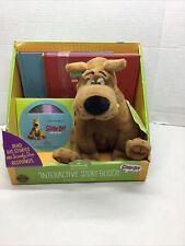 Hallmark Scooby-Doo Interactive Story Buddy w/3 books & read-along CD NEW!