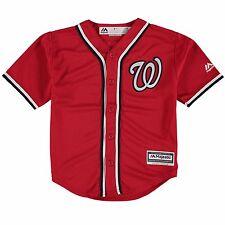 Washington Nationals Blank Red Cool Base Alternate Jersey Infants 12 Months D348