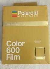 Polaroid Originals GOLD FRAME Color instant film for 600 OneStep