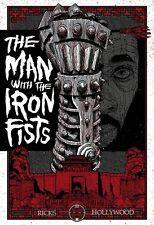 Originl MAN WITH THE IRON FISTS Tarantino RZA Martial Arts WILDING POSTER KNIGHT