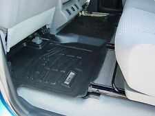 Second Row Black Floor Mat for a 2007 - 2017 Toyota Tundra Double Cab