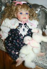 Royal Vienna Doll Ali 486/750 Marci Cohen Signed Lloyd Middleton Crying Tears