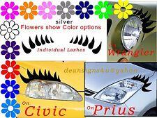 Individual Eyelashes for ANY Car headlight Truck Mini Van Golf Cart U custom USA
