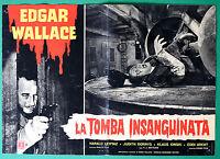 T14 Fotobusta Die Grab Blutig Edgar Wallace Klaus Kinski Gottlieb 2