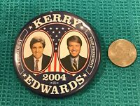 Kerry Edwards - 2004 Presidential Campaign Pinback