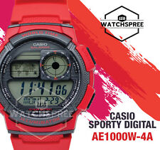 Casio Standard Digital Sporty Design Watch AE1000W-4A