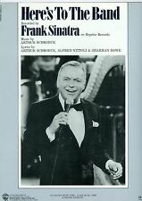 Frank Sinatra sheet music Here's To The Band