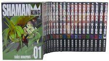 New listing Mint Shaman King Hiroyuki Takei Japan Anime Comic Manga Book Vol 1 - 27 Full Set