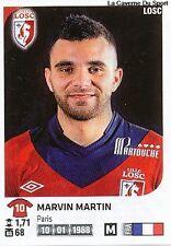 N°138 MARVIN MARTIN # FRANCE LILLE LOSC VIGNETTE STICKER  PANINI FOOT 2013