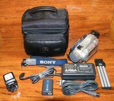 Sony Handycam (DCR-TRV27) Nightshot 120x Digital Video Camera Camcorder Bundle